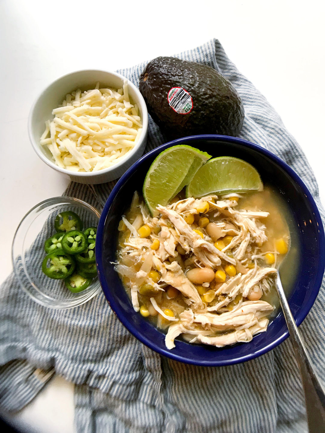 White Chicken Chili | Marianne Cooks